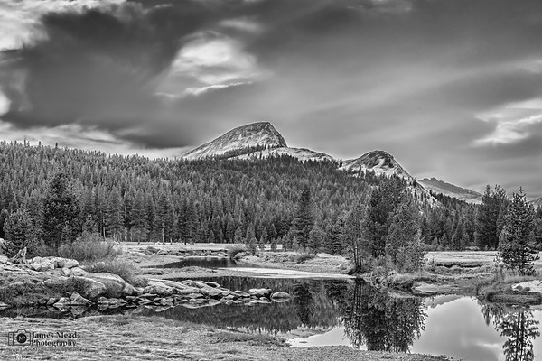 """""""Magnificent,"""" Fairview Dome and the Tuolumne River, Yosemite National Park"""