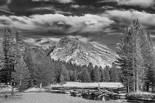 """""""Days Gone By,"""" Lembert Dome, the Tuolumne River and Tuolumne Meadows, Yosemite National Park, California"""