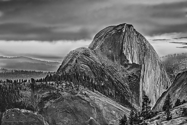 """""""Recollection,"""" Half Dome Sunset, Yosemite National Park"""