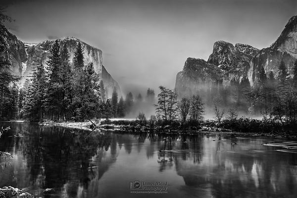 """Valley's Dream,"" Yosemite Valley, Yosemite National Park"