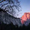 Winter Sun on Half Dome