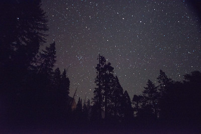 Night Sky from Yosemite Falls