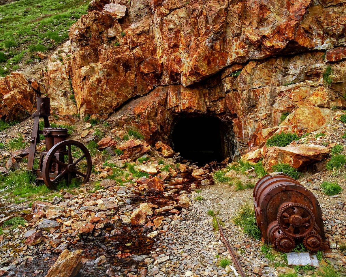 Great Sierra Mine Tunnel at Bennettville