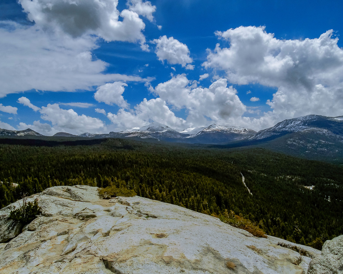 Mount Dana and Mount Gibbs from Lembert Dome