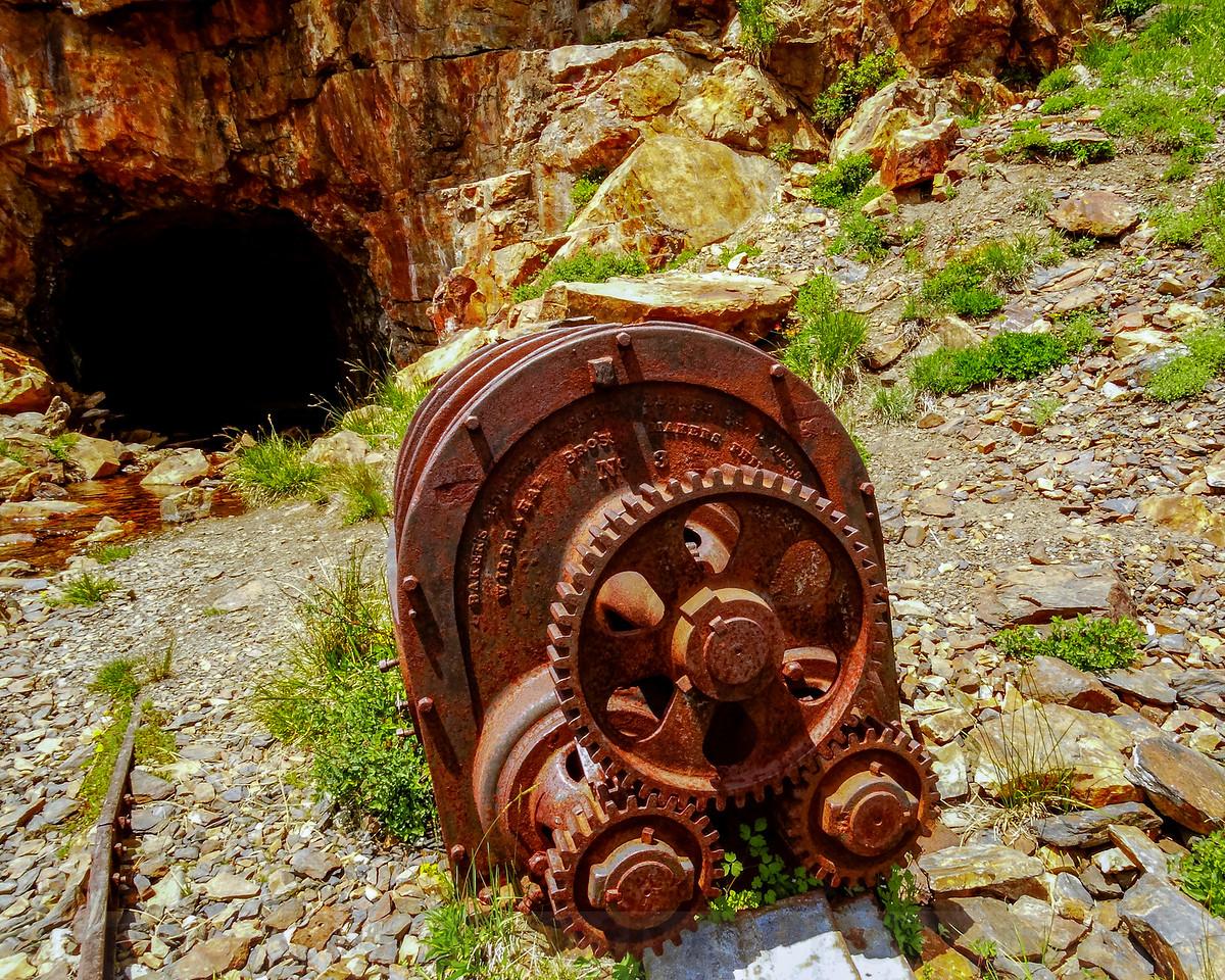 Old Mine Machinary