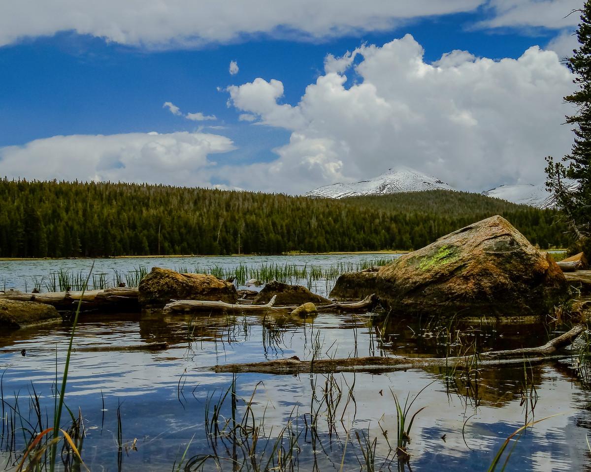 Dog Lake and Mount Dana