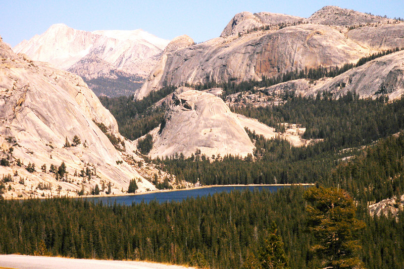 Oct 6th  Yosemite High Sierra, highway 120, Tenaya Lake and autumn along the road. The rest of the photos are of charming Siesta Lake, right off highway 120.