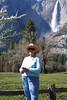 Barb at Yosemite Falls April 2008