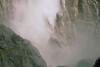 Bottom of Bridle Veil Fall with heavy mist