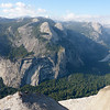 Yosemite Back Country as seen from Glacier Point