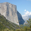 "El Capitan as seen from the ""tunnel view"" Highway 41"