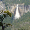 Nevada Fall as seen from Glacier Point
