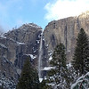 Upper Yosemite Falls as seen from Cook's Meadow.