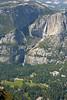 Yosemite Falls and Yosemite Valley.