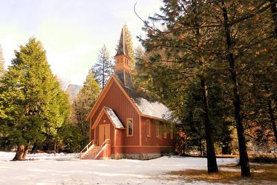 Yosemite Chapel Nov. 2015