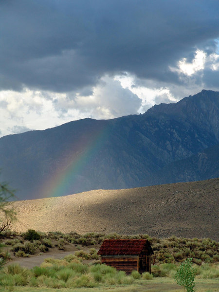 Benton Hot Springs Rainbow.