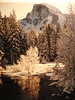 Half Dome Winter Yosemite