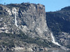 Water Color Painting effect. Hetch Hetchy January 2005.