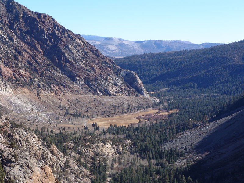Lee Vinning Canyon, just east of Yosemite.