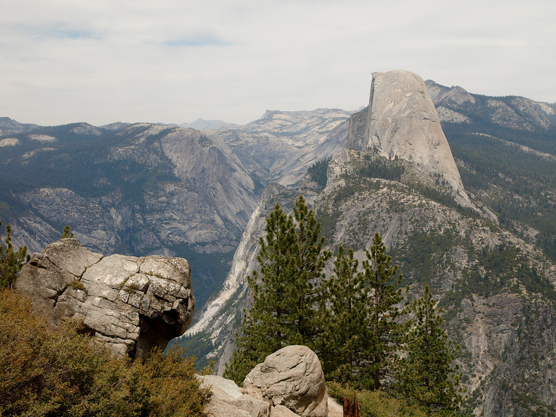 Half Dome from Washburn Point 2a