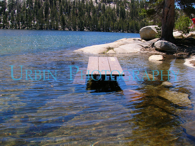 The water was quite high in the Yosemite High Country that year.