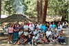 Yosemite Indians, Big Time, June 2004. (The ones who showed up for the photo)