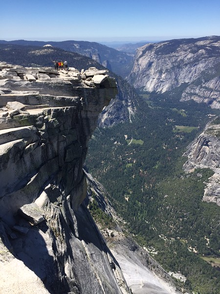 Our group on Half Dome<br /> PC: Greg Weisman