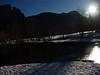Merced River, full moon. Yosemite Valley. 1-10-09