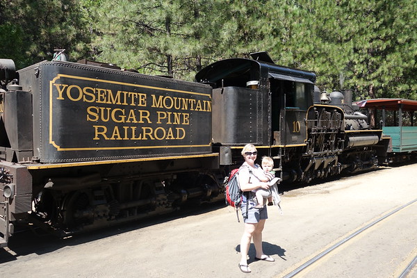 Yosemite Sugar Pine Railroad August 2016