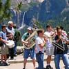Kings Brass was traveling through Yosemite and thought this would be a great place to jam.