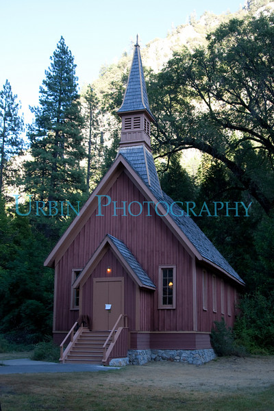 Another view of the Yosemite Chapel.