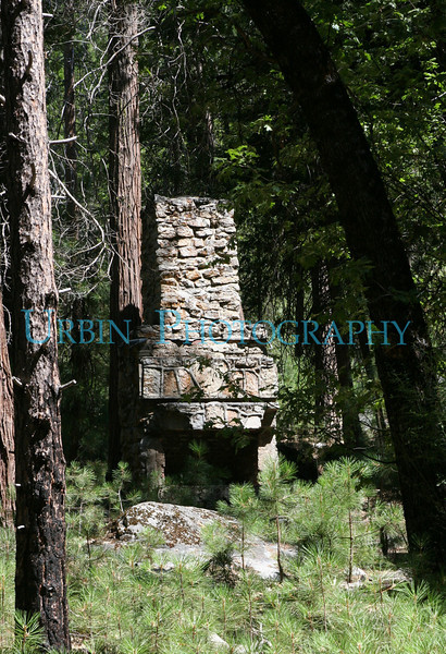 I've seen this old chimney many times, so I finally pulled over and took some pictures of the bloody thing. I'm betting there used to be a building around it.