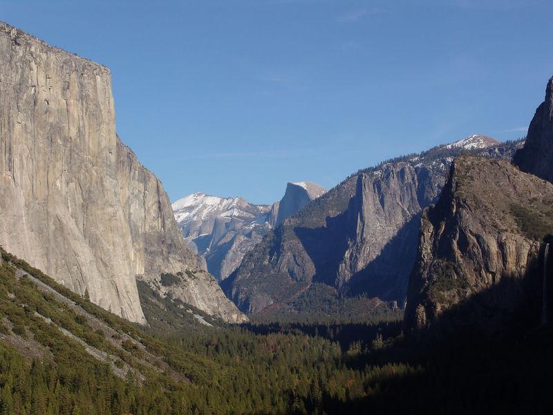 Yosemite fall autum