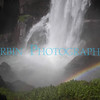 The base of Vernal Falls with bonus Rainbow!