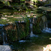 The smallest set of waterfalls in Yosemite Valley.<br /> They are located near Bridalveil Falls.