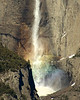 Yosemite Falls Rainbow Snowcone