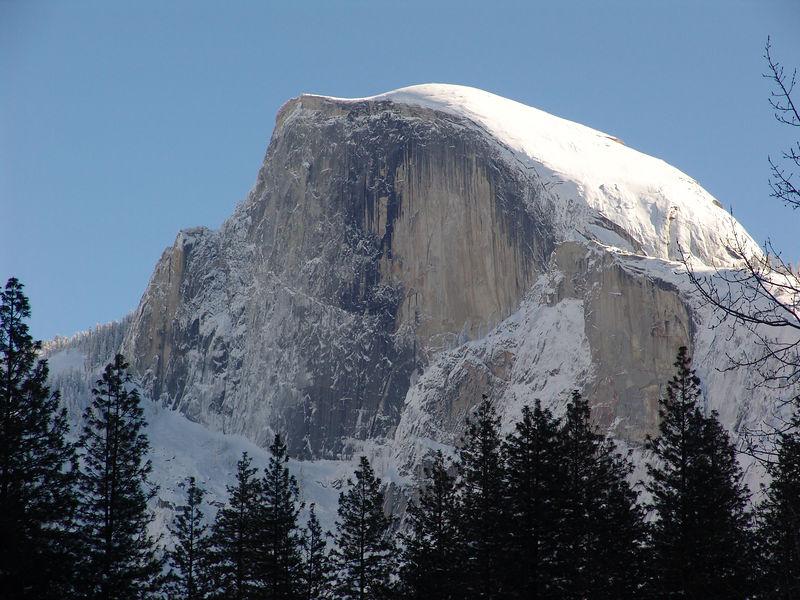 Yosemite winter Half Dome