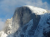 Half Dome Yosemite Winter from Curry Village Ice Rink. while my kids were ice skating. 12-23-08