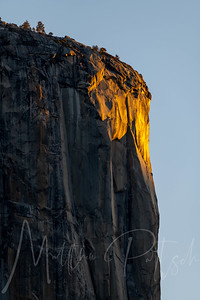 Yosemite Valley - El Capitan Nose sunlight