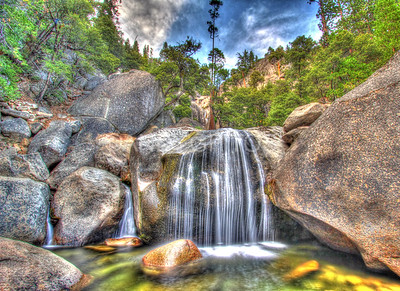 Roadside Waterfall, Yosemite