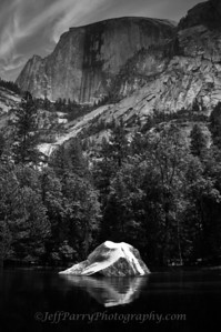 Mirror Lake, Half Dome, Yosemite