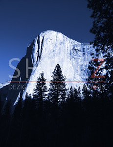 El Capitan Morning - Blue