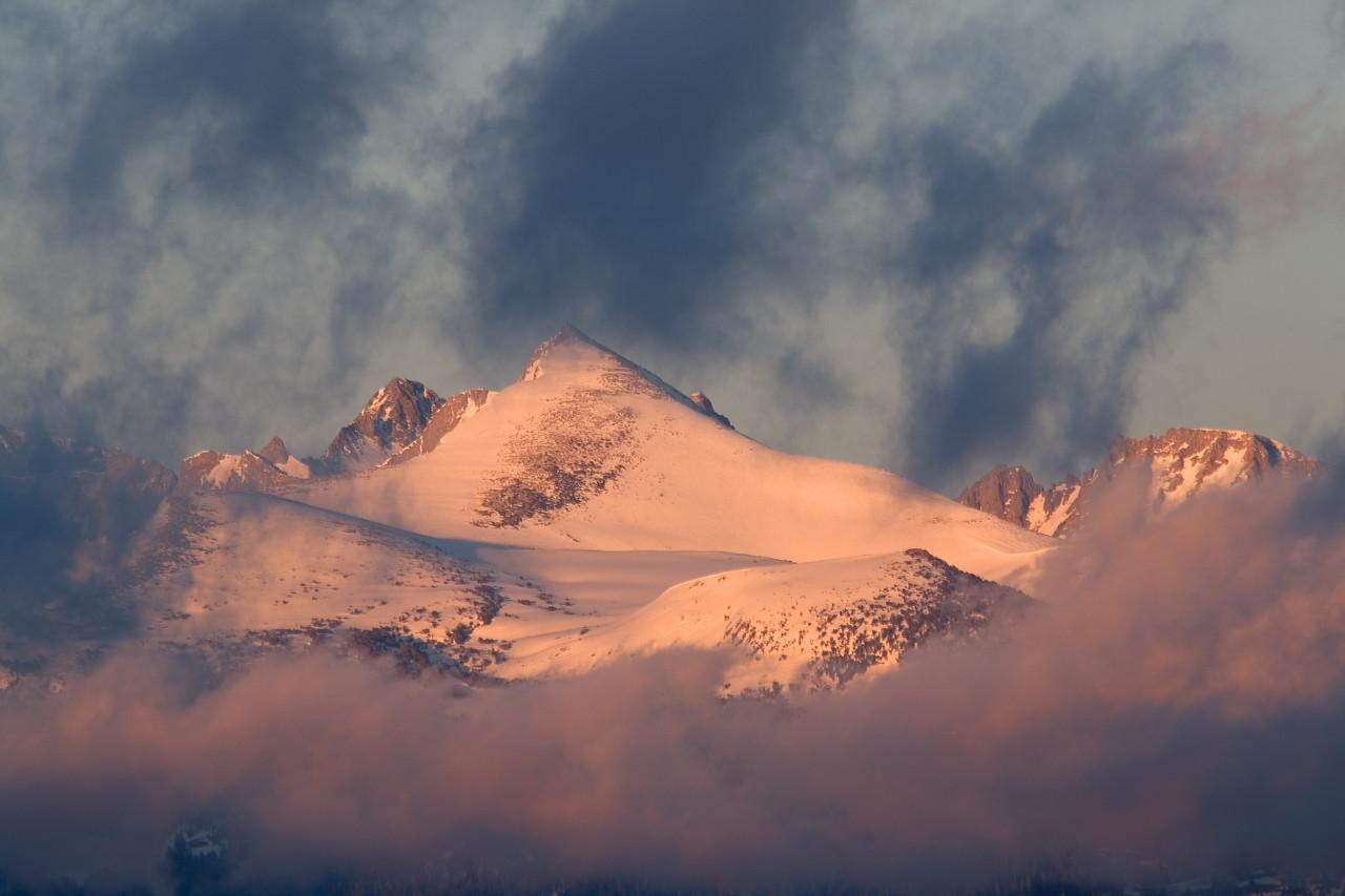 Last Light on Mount Florence