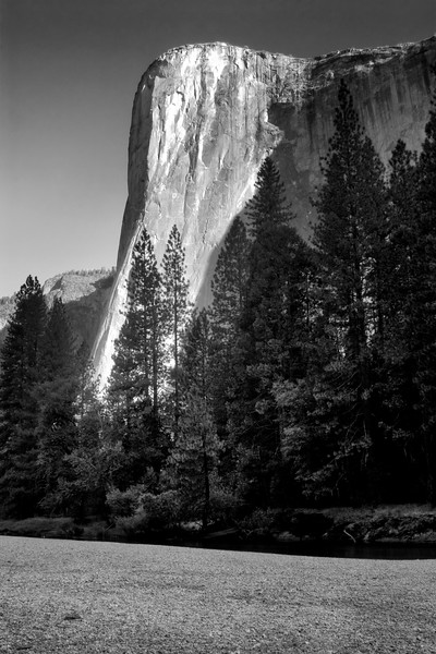 El Capitan in B/W