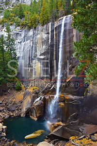 Vernal Falls II - Color