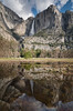 Reflection of Yosemite Falls