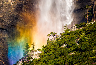 Richards___Rainbow at the base of the upper Yosemite Falls