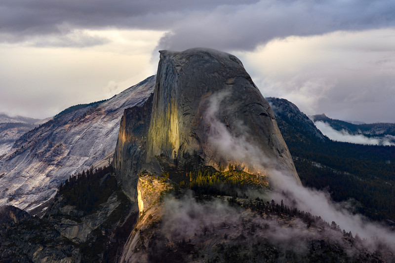 Clearing Storm at Glacier Point