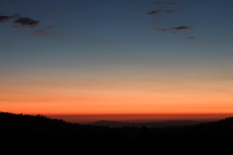 Tioga Sunset
