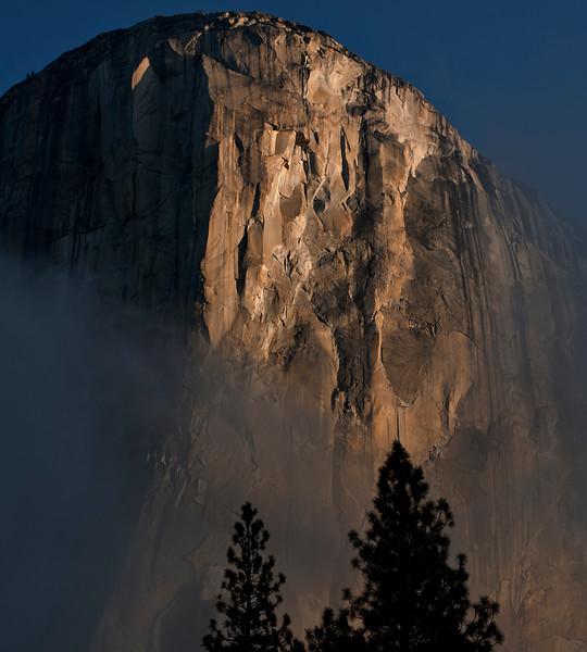 El Capitan at sunrise